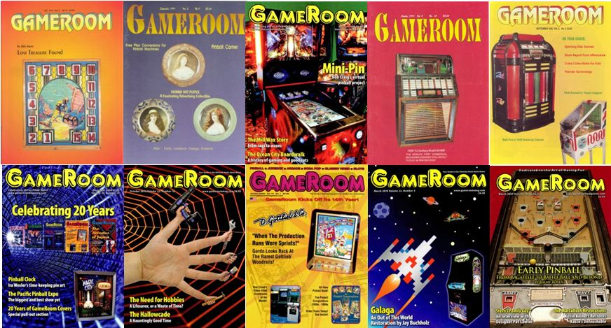 GameRoom Covers--10--Back Issues